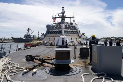 USS Detroit deployed for counternarcotics operations