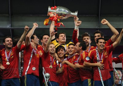 UEFA: Spain 4, Italy 0