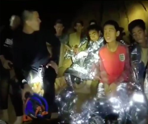 Father: Boys only planned to stay in Thai cave one hour