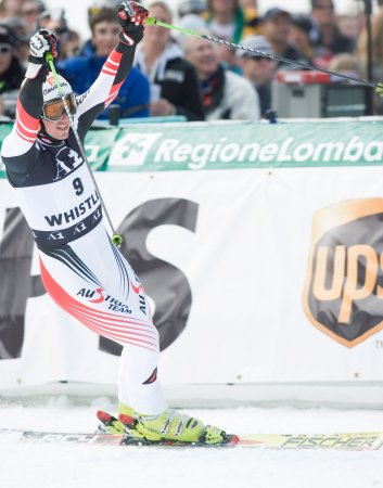 Austria's Reichelt wins men's super G