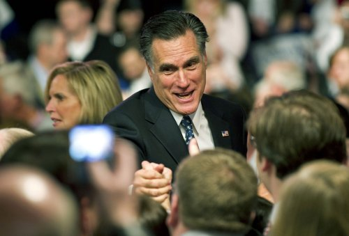 Romney efforts to empathize rivals' fodder