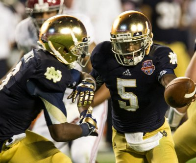 Everett Golson goes after radio host Paul Finebaum
