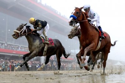 UPI Horse Racing Roundup: Justify win in Preakness Stakes highlights action