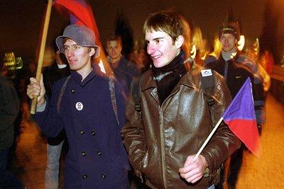 On This Day: Czechoslovakia's Velvet Revolution begins