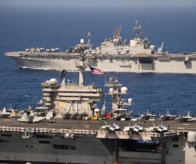 Roosevelt, America strike groups unite for Pacific operations