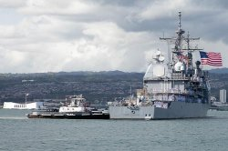USS Port Royal returns to Pearl Harbor after deployment