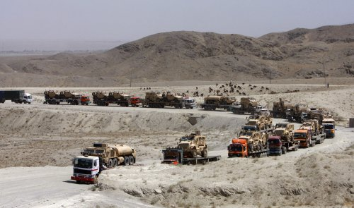 U.S. halts cargo shipments on route from Afghanistan through Pakistan