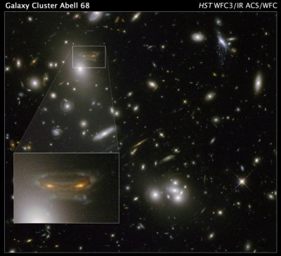 'Space Invader' shows up in cosmic image