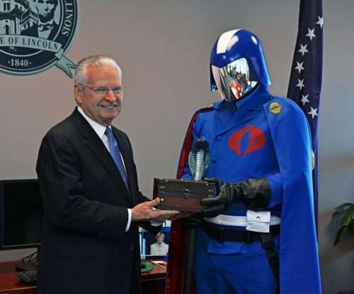 Illinois mayor gives 'G.I. Joe' villain key to the city