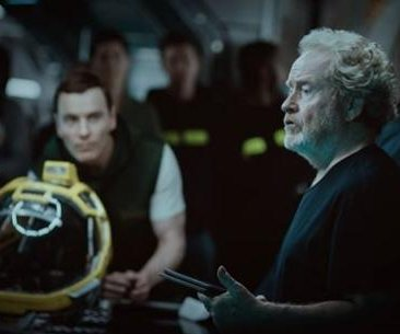 'Alien: Covenant' set photo features Ridley Scott, gives first look at Michael Fassbender