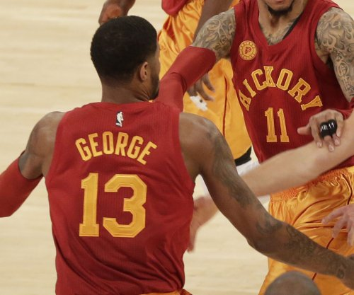 Miami Heat defeat Indiana Pacers; Paul George ejected