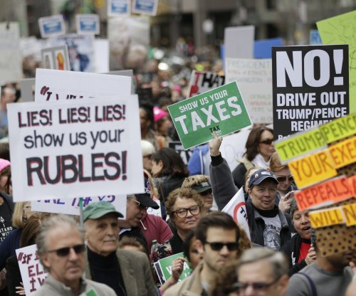 Nationwide 'Tax March' protests seek release of Trump tax returns