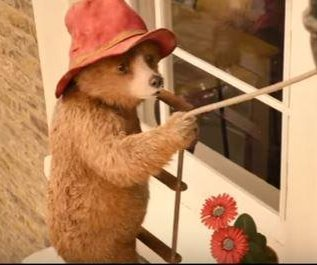 Iconic bear works as a window cleaner in 'Paddington 2' trailer