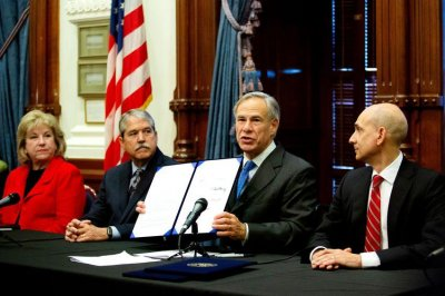 Texas governor signs school safety bills in response to Santa Fe High shooting