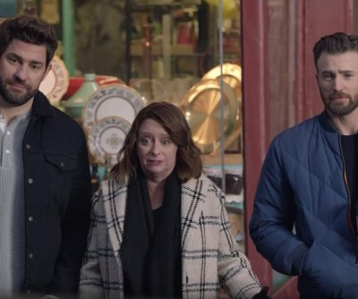 Chris Evans, John Krasinski use Boston accents in Super Bowl ad