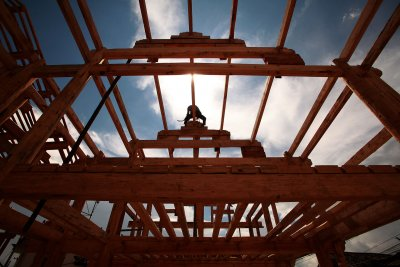 Home-building across U.S. declines by nearly a quarter