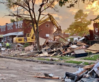 Major gas explosion destroys 3 homes in Baltimore; at least 1 dead, 7 injured