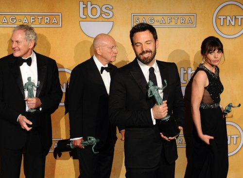 'Argo,' Lawrence, Day-Lewis win SAG Awards for film