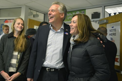 Terry McAuliffe wins close race for Virginia governor