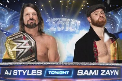 WWE Smackdown: AJ Styles faces Sami Zayn, The Usos defend Tag titles