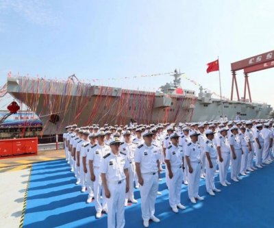China's amphibious assault ship to enter full deployment, reports say