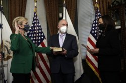 Jennifer Granholm sworn in as energy secretary