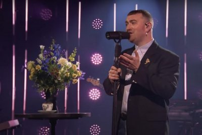 Sam Smith performs 'Kids Again' on 'The Late Late Show'