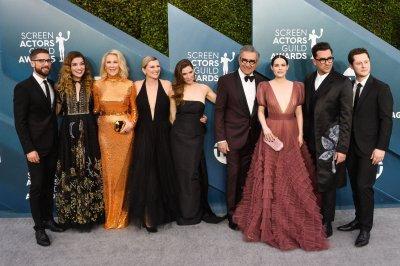 'Schitt's Creek,' 'Crown,' 'Chicago 7' win top SAG Awards