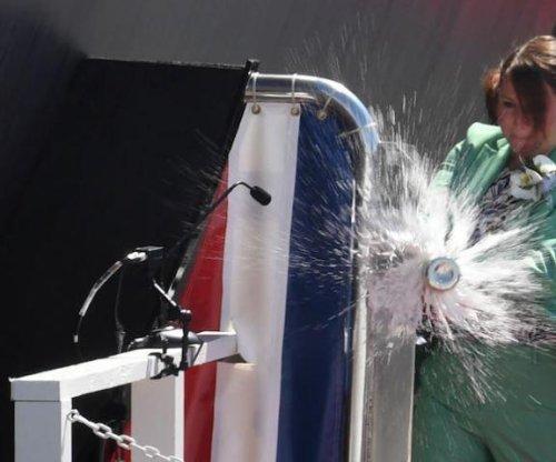 Navy christens submarine honoring Adm. Hyman Rickover