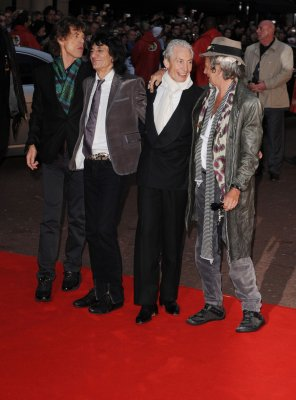 Rolling Stones reunited for wedding