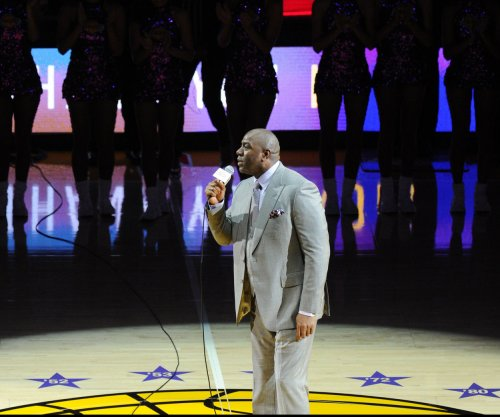 Magic Johnson likes 'Showtime' Los Angeles Lakers over Golden State Warriors