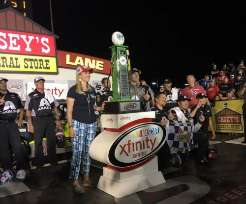 NASCAR: Rookie William Byron wins first Xfinity race at American Ethanol E15 250