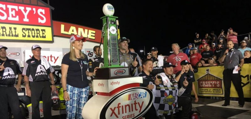 Nascar Rookie William Byron Wins First Xfinity Race At American