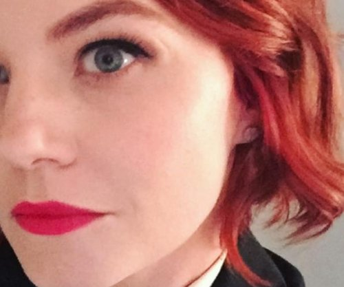Jennifer Morrison debuts red hair at New York event
