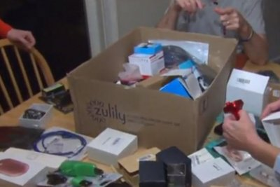 Couple receiving Amazon packages they never ordered
