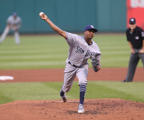 San Diego Padres' Luis Perdomo returns to face Los Angeles Dodgers