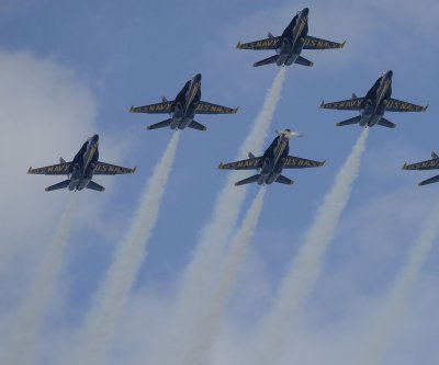 Blue Angels receive first Super Hornet ahead of aircraft transition