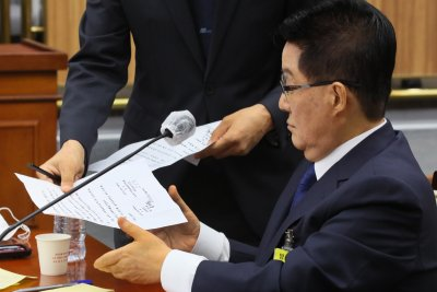 South Korea spy chief nominee denies offering billions to North