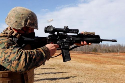 Marines prepare for new, combat-oriented Annual Rifle Qualifications