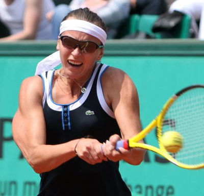 Upset win advances Voegele in Istanbul Cup