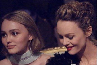 Vanessa Paradis, daughter Lily-Rose Depp stun at Chanel show