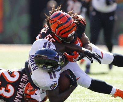 Cincinnati Bengals' Vontaze Burfict expects to make impact vs. Miami Dolphins