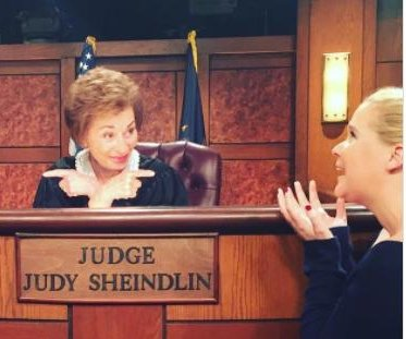 Amy Schumer shares 'dream day' set visit of 'Judge Judy'