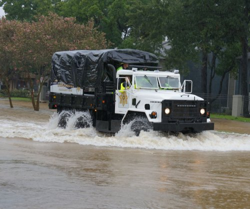 Tropical Storm Harvey swamps Houston with 2 feet of rain