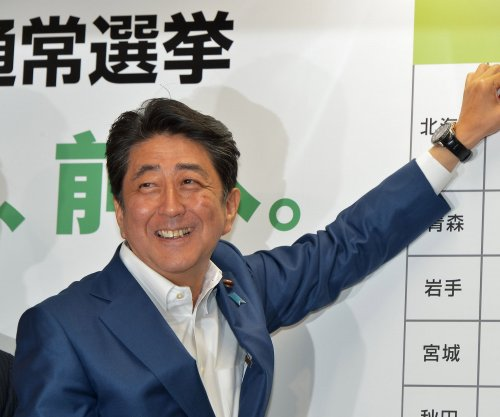 Japanese Prime Minister Shinzo Abe's ruling coalition wins big in Senate election