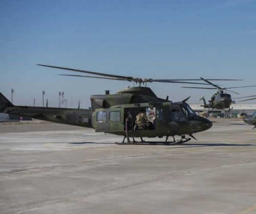 Canada deploys CH-146 helicopters to Iraq
