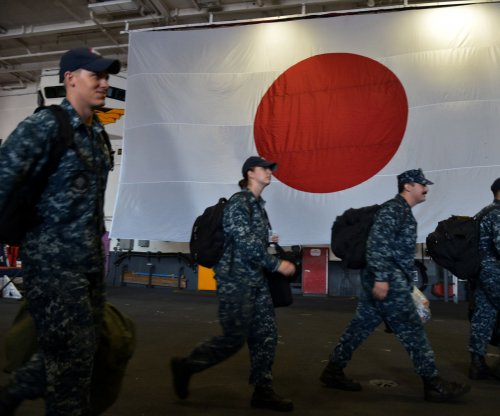 Japan warships, U.S. aircraft carrier conclude drills in South China Sea