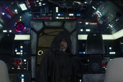 'Star Wars: The Last Jedi teaser: Luke Skywalker visits the Millennium Falcon