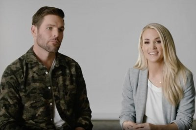 Carrie Underwood, Mike Fisher discuss marriage, family in 'God & Country' trailer