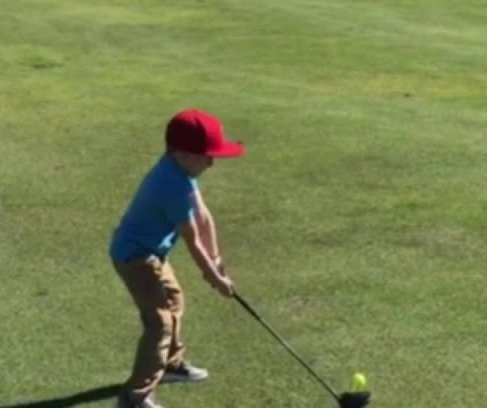 Boy, 5, hits hole-in-one at Florida golf course